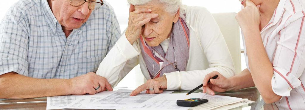 Elderly looking at how South Carolina is ranked at the bottom when it comes to nursing home fines