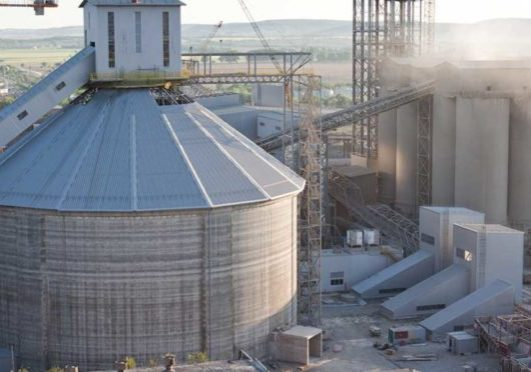 cement factory workplace accident